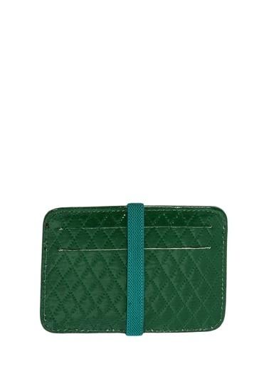 Cotton Bar Clutch / El Çantası Yeşil